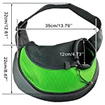 Acediscoball Comfort Travel Tote Sling Carrier Backpack for Puppy Pet Dog Cat 6