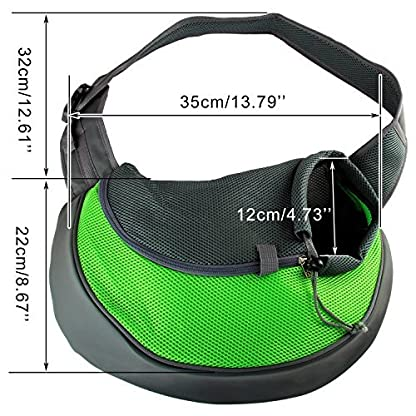 Acediscoball Comfort Travel Tote Sling Carrier Backpack for Puppy Pet Dog Cat 2