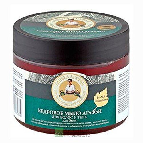 Bania Agafia Hair nad Body Cedar Soap 300 ml