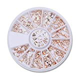 Uñas Postizas Puntas De Uñas Color Mezclado Piedra Para Uñas Ab Color Rhinestone Cuentas Irregulares Manicura Para Uñas Decoraciones Artísticas Cristales-23