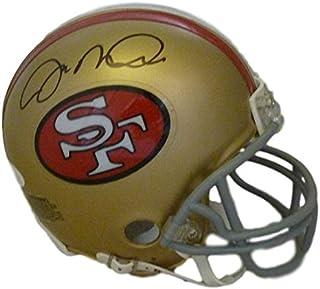 Joe Montana Autographed San Francisco 49ers mini helmet Name Only JSA 389ad54b4