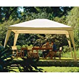 Coolaroo Isabella 8 Ft. H x 12 Ft. W x 10 Ft. D Folding Gazebo with Carry Bag