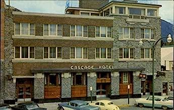 Cascade Hotel Banff, Alberta Canada Original Vintage Postcard