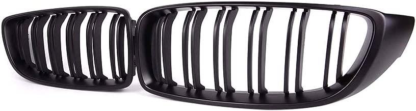 4 Serie,F32 F33 F82 M4 13-17 F36 F83 14-17 Glossy Black Double Bridge Front Kidney Sport Grill Grilles