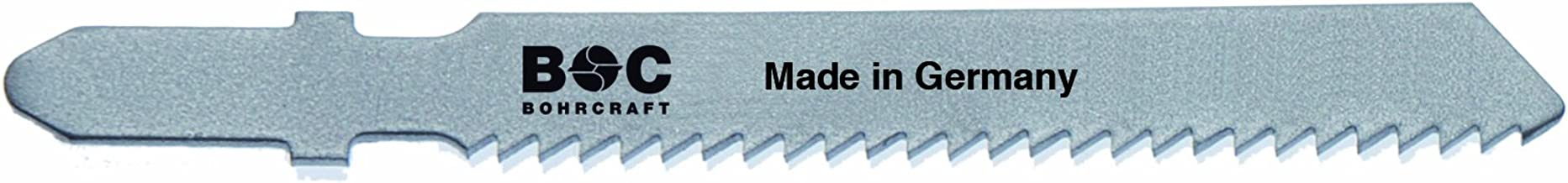 Bohrcraft–Sierra de calar (HSS, dientes Ondulado, ZT 2x 55mm Longitud en 5unidades de tarjeta, 1pieza, 19641600002