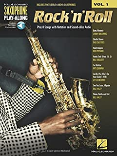 Rock 'n' Roll: Saxophone Play-Along Volume 1 Bk/Online Audio