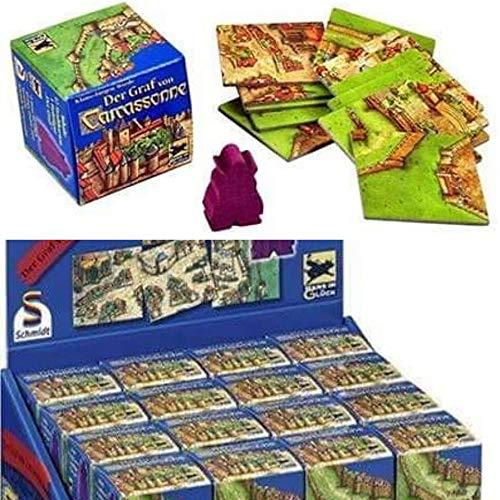 Carcassonne Schmidt Jeux Extension Le GRAF 32 pièces