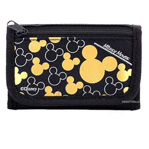Disney Mickey Mouse Gold Wallet