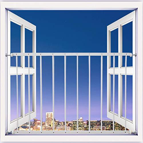Mornyray ベビーガード 転落防止柵 窓フェンス 子供 ベビーフェンス ウィンドガード 連結可能 窓 突っ張り 転落防止柵 セーフティー 育児 安全ゲート 幼稚園 (サイズ : 1枚/80-92cm)