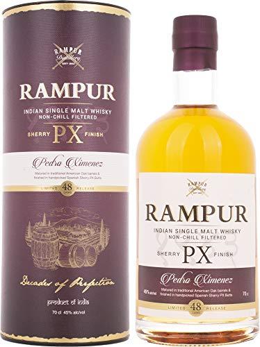 Rampur PX SHERRY FINISH Indian Single Malt Whisky  Whisky ( x 0.7)