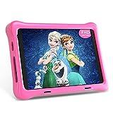 Hyjoy Tablet para Niños, 8 Pulgadas Android 10.0 Tablet Infantil, 2GB RAM 32GB ROM, 1.6Ghz Quad Core, FHD 1920x1200 IPS, WiFi, Bluetooth, Cámara Dual Tablet PC Juegos Educativos (Pink)