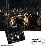 1art1 Van Rijn Rembrandt, Die Nachtwache, 1642 1 Poster
