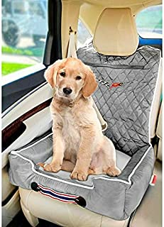 Seat Armour PET2GOCOR6G PetBed2GO, Corvette C6, Grey Pet Bed Cushion & Car Seat Cover, 26x20x6, 3.5 lbs