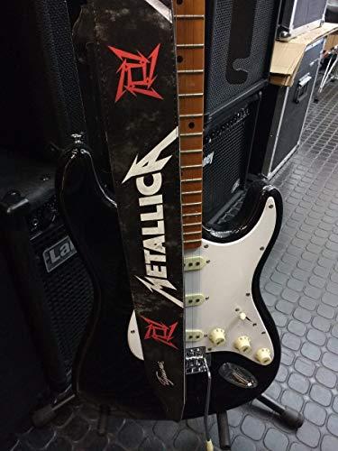 Metallica Gitarrengurt oder Bassgurt (Kunstleder)