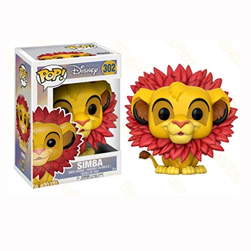 YYBB ¡Popular!Disney: La Figura de acción de Simba El Rey León for la colección Figuras Kid Regalos Juguetes 3,9 Pulgadas Figurines