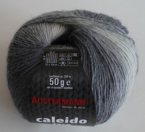 Caleido Lace Austermann Winterwolle Baby-Alpaka-Schurwoll-Mischung 50 g Farbe 101