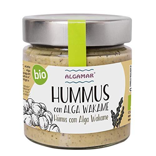 Hummus con Alga Wakame BIO Algamar 180 g