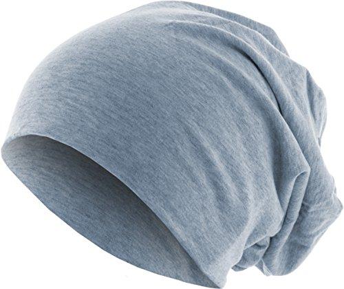 MSTRDS Jersey Beanie Bonnets en Mailles, Blau (Heather Indigo 3827), Taille Unique Femme