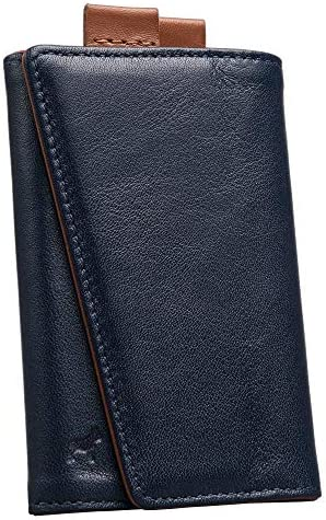 The Frenchie Co Speed Wallet Ultra Navy Tan The Original Speed Wallet for Men with RFID Blocking product image