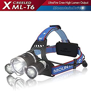 SALE! Headlight Flashlight Hiking Rechargeable XML T6 CREE Led Hiking Headlamp Flashlight Adjustable Streamlight LED