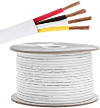 16AWG CL2 Rated 4 Conductor Loud Speaker Cable 250ft for in-Wall Installation