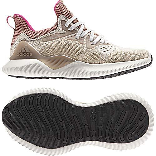 adidas Alphabounce Beyond, Zapatillas de Entrenamiento Unisex Niños, Blanco (Chapea/Shopnk/Trakha Chapea/Shopnk/Trakha), 38 2/3 EU ⭐