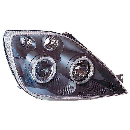 AutoStyle SK3300-FMK03-JM koplamp met Halo Rim, Ford Fiesta VI 4/02-, zwart