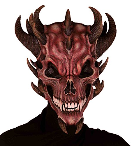 Top skull mask with horns for 2021