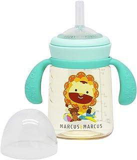 Marcus & Marcus PPSU Straw Trainer Bottle - Marcus, Blue