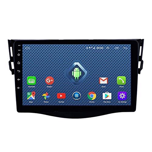 Android 8.1 Radio Para Automóvil Para Toyota RAV4 2007-2012 Estéreo Para Automóvil Navegación GPS Pantalla Táctil Reproductor Multimedia Para Automóvil Unidad Principal De Doble D(Color:4G+WIFI:1+16G)