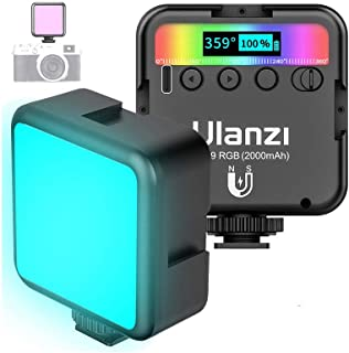 RGB Fill Light for Photography Vlog Live VL49 Mobile Phone Camera Computer Video Conference Fill Light