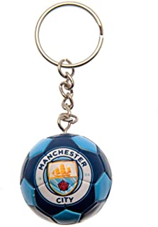 Manchester City FC Football Keyring