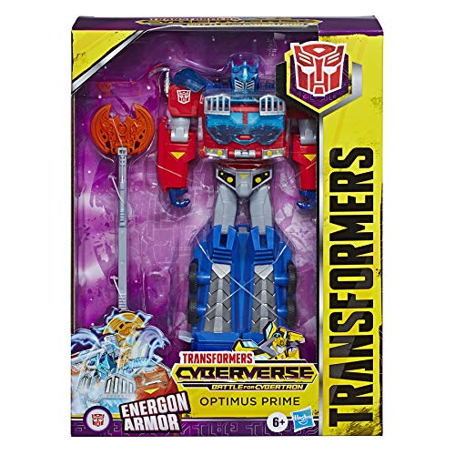 Transformers Cyberverse Ultimate Optimus Prime (Hasbro E7112ES0) , color/modelo surtido