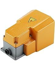 Interruptor de pie Interruptor de encendido/apagado del pedal de pie resistente a la corrosión resistente al aceite LT-6H 250V 10A con guardia