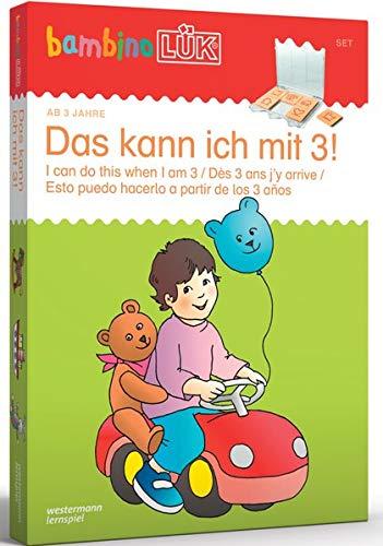 bambinoLÜK-Sets: Georg-Westermann-Verlag bambinoLÜK Set Das kann ich mit 3: Kasten + Übungsheft/e / 3 Jahre: Das kann ich mit 3! (bambinoLÜK-Sets: Kasten + Übungsheft/e)