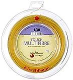Kirschbaum Spule Touch MultiFiber Tennissaiten, MF125-100, Natur, 1.25mm/17-Gauge