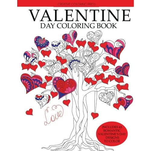 Valentine\'s Coloring Pages - Simple Fun for Kids