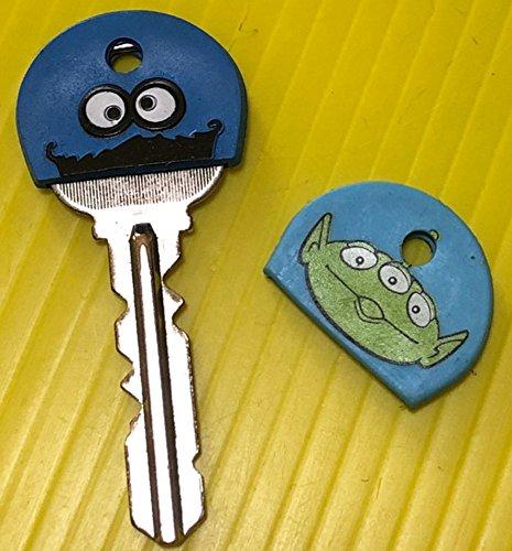 クッキーモンスター リトルグリーンメン キーケース キーカバー 鍵 2種類セット