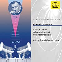 The Welte Mignon Mystery, Vol XIX by GLAZUNOV/LEMBA (2012-11-13)