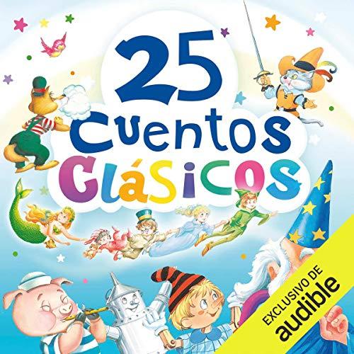 Diseño de la portada del título 25 cuentos clásicos