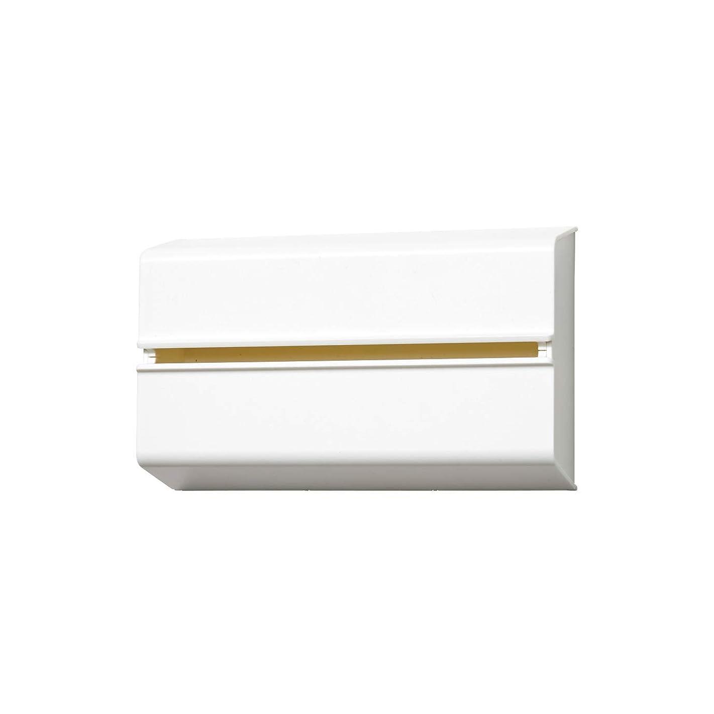 デザイナー協力に対応ideaco (イデアコ) キッチンペーパーホルダー ホワイト 幅25.5x高さ15.6 6.5 対応サイズ:幅23x高さ12x奥行4.5cm WALL PT(ウォール ピーティ)