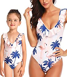 Modest Swimsuits for Mom and Daughter