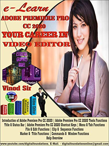 Adobe Premier Pro CC 2020 Animation: Latest Book (English Edition)