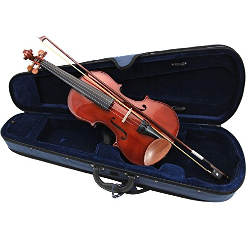 Primavera 90 - Juego de violín, arco y estuche (tamaño 3/4)