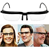 Reading Glasses Adjustable Strength Lens Variable...