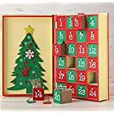 【カルディ限定】 アドベントカレンダー ウッドボックス ブック型 木製