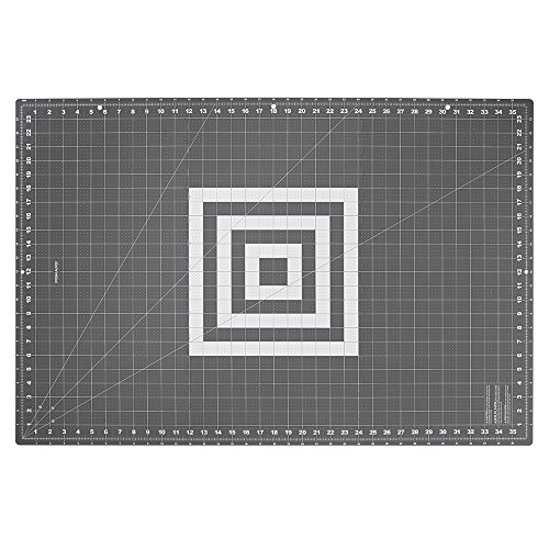 Fiskars Crafts 193910-1001 Folding Cutting Mat, 24 x 36, Grey