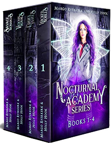 The Nocturnal Academy Complete Series Boxset [A New Adult Prison Academy Series] (English Edition)
