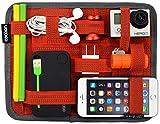Cocoon GRID-IT - Borsa per Accessori / iPad 7-9 Pollici e Organizer I Sistema Multifunzionale per Tablet I Organizer Portatile - Rosso- 18.4x1x23.5 cm