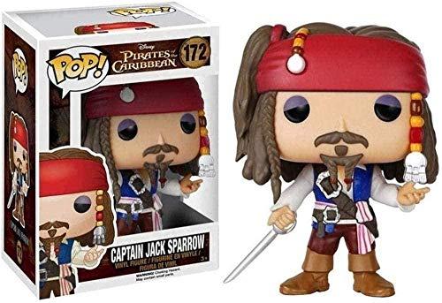 ADIS ¡Figura Pop Figura de Vinilo de Jack Sparrow Film Master Collection Figura de los Piratas del Caribe Classice Film Series 10 cm